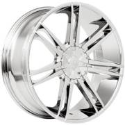Borghini B20 Chrome Wheels