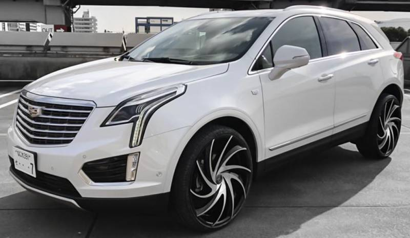 Cadillac XT5 on Lexani Twister Wheels