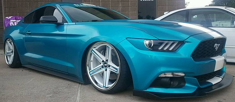 Concept One CSS-55 20x10 / 20x11 on Ford Mustang