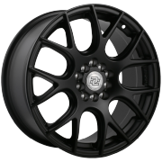 Drag Concepts R15 Satin Black Wheels