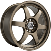 Drag Concepts R24 Satin Bronze Wheels