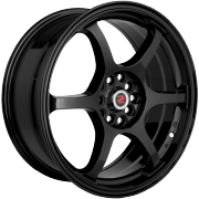 Drag Concepts R25 Gloss Black Wheels