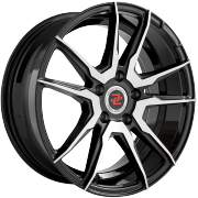 Drag Concepts R29 Black Machined Wheels