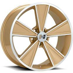 Hurst Dazzler Gloss Gold Machined Wheels