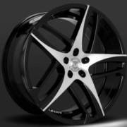 Lexani Bavaria Black Machine Wheels