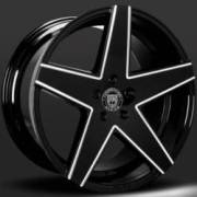 Lexani Mainz Black Machine Wheels