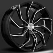 Lexani Matisse Black Machine Wheels