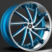Lexani Artemis Blue and White Custom Wheels