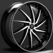 Lexani Artemis Machined Black Custom Wheels