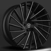 Lexani Wraith Gloss Black CNC Machined Wheels