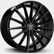 Lexani Pegasus Gloss Black Milled Wheels