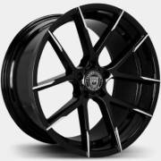 Lexani Stuttgart Black Machine Wheels