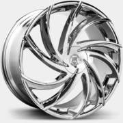 Lexani Twister Chrome Wheels