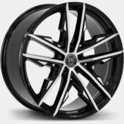 Lexani Venom Black Machined Wheels