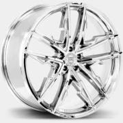 Lexani Venom Chrome Wheels