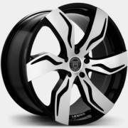 Lexani Zegato Machine Black Wheels