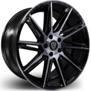 Marquee 4617 Black Machined Wheels