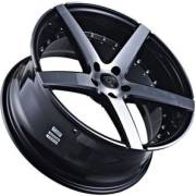 Marquee 3226 Black Machined Wheels