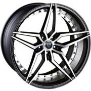 Marquee 3259 Black Machined Wheels