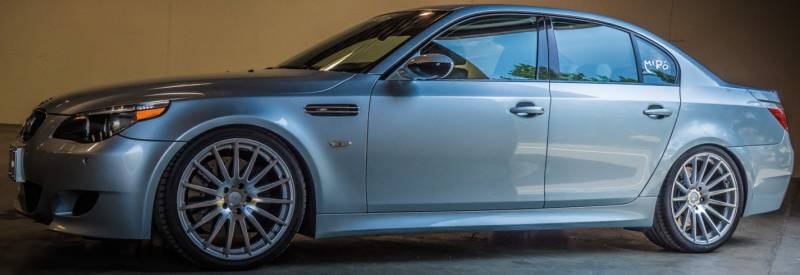 2006 BMW 535i on 20 inch Miro 110 Alloy Wheels