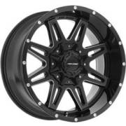 Pro Comp Series 42 Blackade Gloss Black Milled