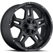 SenDel S37 Stealth Matte Black Wheels