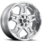 SenDel S37 Tango Polished Wheels