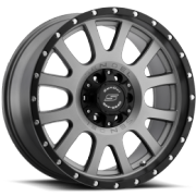 SenDel S38 Locker Matte Graphite Wheels
