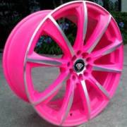 White Diamond WD-1026 Pink Machined