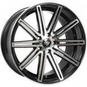 White Diamond 7103 Machined BlackWheels