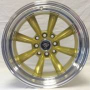 White Diamond 8014 Gold Wheels