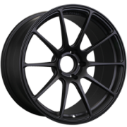 XXR 527 Forged Alpha Flat Black Wheels