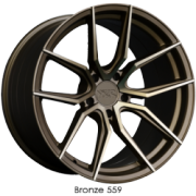 XXR 559 Bronze Wheels