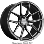 XXR 559 Chromium Black Wheels
