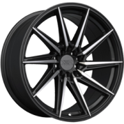 XXR 561 Graphite Machined Wheels
