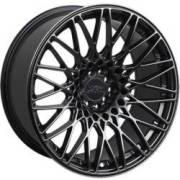 XXR 553 Labyrinth Chromium Black Wheels
